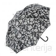 Pusautomātiskais sieviešu lietussargs