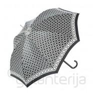 Pusiau automatinis moteriškas skėtis