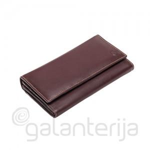 Moteriška DV odinė piniginė