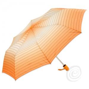 Moteriškas pusiau automatinis skėtis