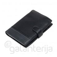 Vyriška Alfa Ricco odinė piniginė
