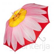 Moteriškas ilgas skėtis